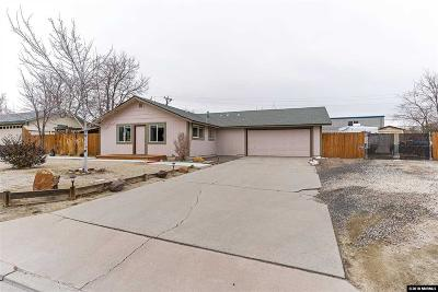 Carson City Single Family Home Active/Pending-Loan: 18 Milliman