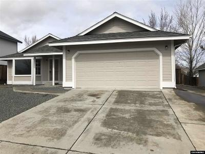 Carson City Single Family Home New: 4218 Quinn Dr