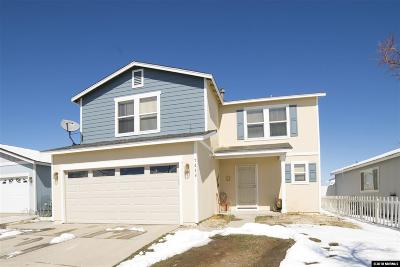 Reno Single Family Home Active/Pending-Loan: 7449 Spey Drive