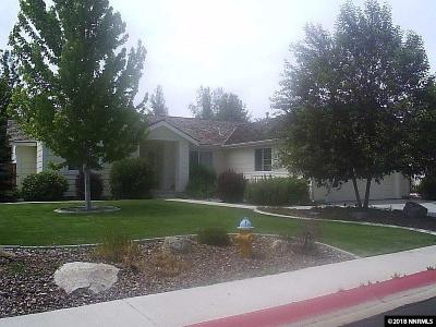 Minden Single Family Home Active/Pending-Loan: 1824 Bougainvillea Drive