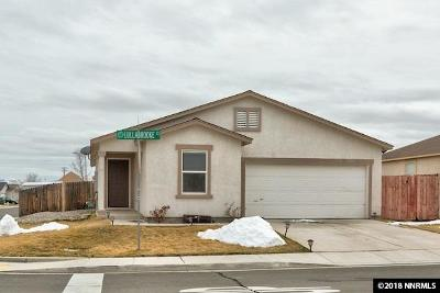 Sparks NV Single Family Home New: $314,900