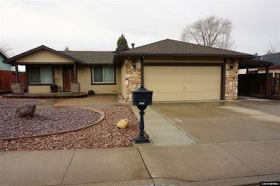 Sparks Single Family Home New: 1407 Satellite Drive