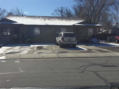 Sparks NV Multi Family Home New: $400,000