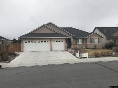 Fernley Single Family Home New: 521 Wedge Ln.