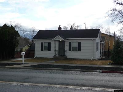 Reno Single Family Home New: 853 Bell St
