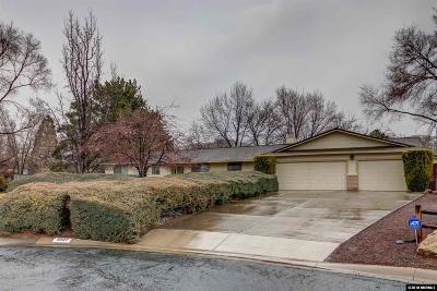 Reno Single Family Home New: 5037 Canterbury Cir