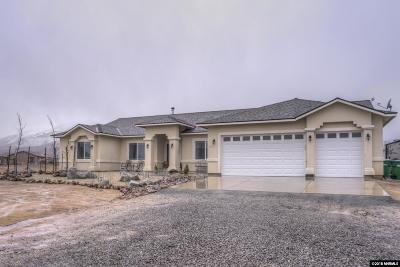 Reno Single Family Home Active/Pending-Loan: 20555 Fetlock