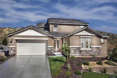 Reno Single Family Home New: 1650 Verdi Vista Court