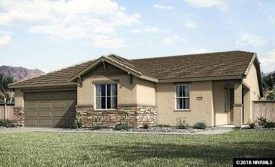 Reno Single Family Home New: 10298 Culiacan Pass Trail