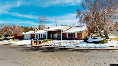 Reno Single Family Home New: 2000 Del Rio