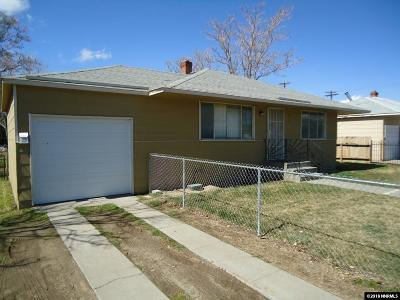 Reno Single Family Home New: 911 Belgrave