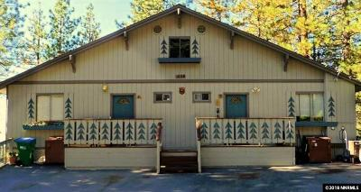 Incline Village Multi Family Home For Sale: 1069 Peace Pipe Ln