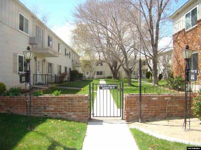 Sparks Condo/Townhouse For Sale: 1945 4th Street Apt. 41 #41