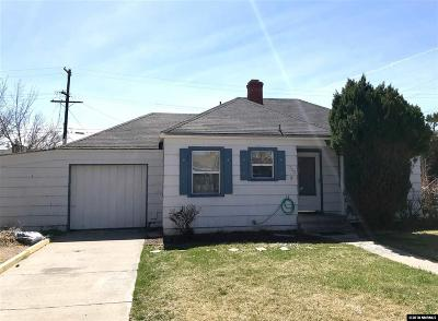 Reno Single Family Home Active/Pending-Call: 702 Claremont