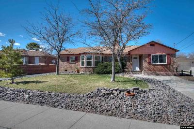 Reno Single Family Home Active/Pending-Loan: 2253 Sunrise Drive
