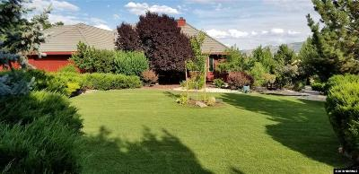Washoe County Single Family Home Active/Pending-Loan: 280 Riverdale Circle
