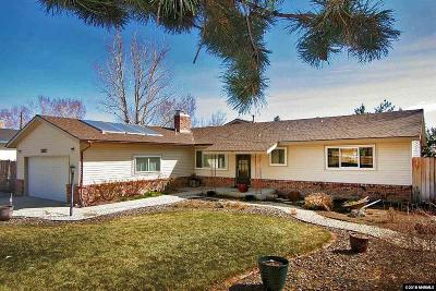 Washoe County Single Family Home Active/Pending-House: 12235 Brentfield
