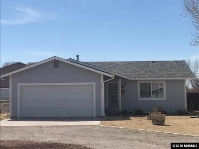 Fallon Single Family Home Active/Pending-Loan: 1538 Lattin Road