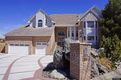 Reno Single Family Home Active/Pending-Loan: 1881 Three Mile