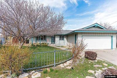 Washoe County Single Family Home Back On Market: 1340 Muir Dr