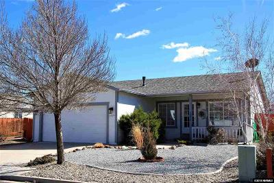 Reno Single Family Home Active/Pending-Loan: 17674 Georgetown Ct