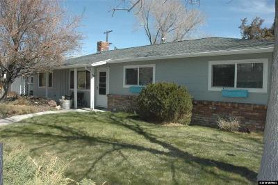 Carson City Single Family Home For Sale: 601 N Pratt Ave