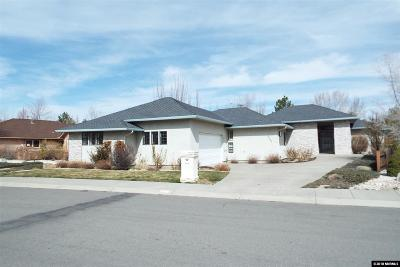 Carson City Single Family Home For Sale: 2193 Shadow Brook Ct