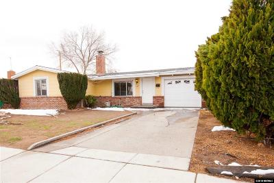 Sparks Single Family Home Active/Pending-Loan: 1105 Prospect Ave