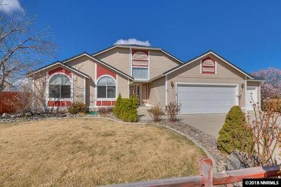 Gardnerville Single Family Home Active/Pending-Loan: 778 Mammoth Way