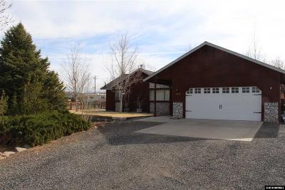 Gardnerville Single Family Home Active/Pending-House: 1087 Canal Drive
