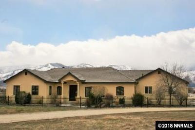 Washoe County Single Family Home Active/Pending-Call: 3825 Doc Bar Ct