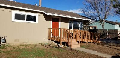 Reno Single Family Home For Sale: 1876 Helena Ave