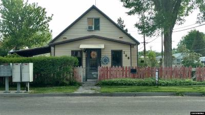 Battle Mountain Single Family Home Price Reduced: 108 E 4th Street