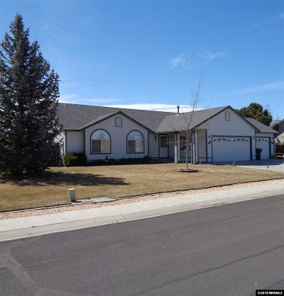 Gardnerville Single Family Home Active/Pending-House: 1469 Tyndall Way