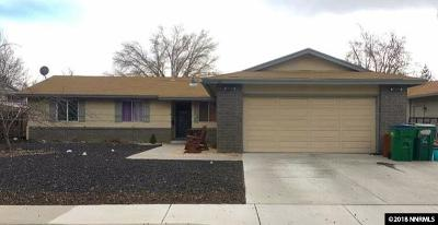 Sparks Single Family Home Active/Pending-Loan: 981 Desert View