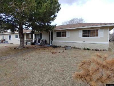 Carson City Single Family Home For Sale: 3671 Shawnee Dr