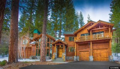 Incline Village Single Family Home For Sale: 580 Ponderosa
