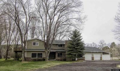 Gardnerville Single Family Home Active/Pending-Call: 1505 Niblick Drive