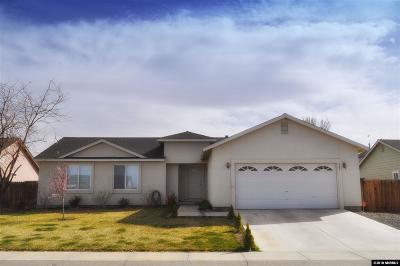 Fernley Single Family Home For Sale: 981 Julia Lane