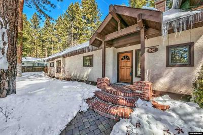 Incline Village Single Family Home For Sale: 842 McCourry