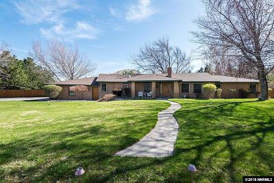Carson City Single Family Home Active/Pending-Loan: 141 Plantation Drive