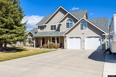 Carson City Single Family Home For Sale: 4475 Bigelow Dr