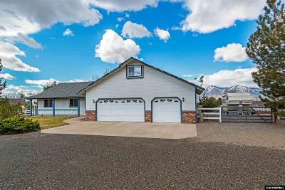 Minden Single Family Home Active/Pending-Loan: 2816 East Valley Road