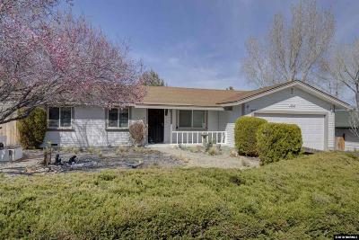 Carson City Single Family Home Active/Pending-House: 1524 Trolley