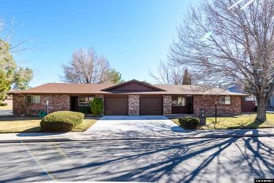 Carson City Multi Family Home Active/Pending-Call: 705 Stafford Way #705 and