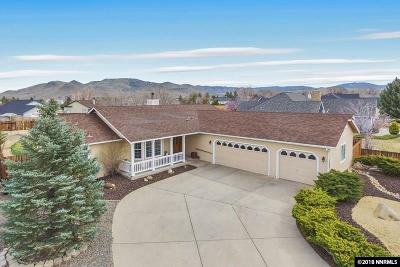 Minden Single Family Home Active/Pending-House: 1268 Downs Drive