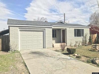 Reno Single Family Home Active/Pending-Call: 1230 Wilkinson Ave