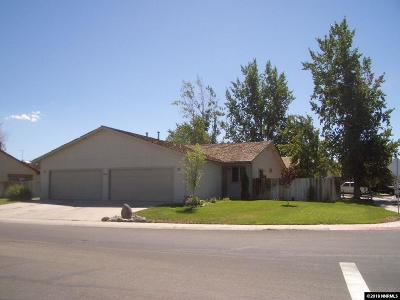 Gardnerville Multi Family Home Active/Pending-Loan: 1405 James Road #A & B