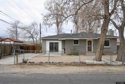 Fernley Single Family Home For Sale: 330 West Street