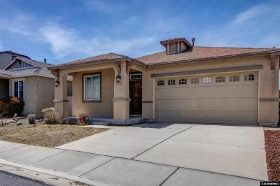 Washoe County Single Family Home Back On Market: 2237 Big Trail Cir